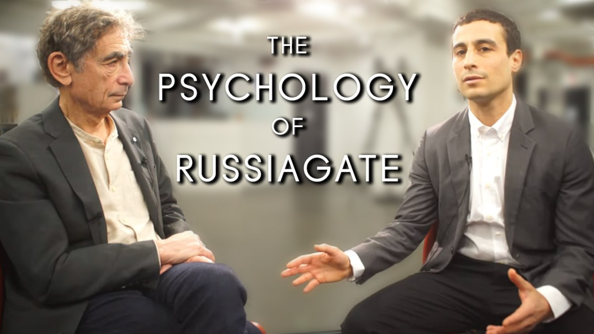 America in denial: Gabor Maté on the psychology of Russiagate (Interview transcript)